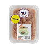 Emincés de filet de poulet, barquette, 500g