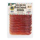 Jambon sec de Bayonne Bastides Salaisons