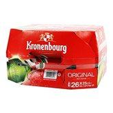 Kronenbourg Bière  26x25cl