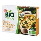 Gratin de poulet Bio Village Légumes - 450g