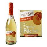 Festalie Pétillant  Pêche - 3,5% vol. 75cl
