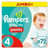 Pampers Culottes  Baby Dry Pants T4 x72