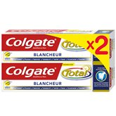 Colgate Dentifrice  Total blancheur - 2x75ml