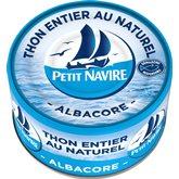 Thon au naturel Petit Navire Démarche Resonsable - 93g