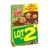 mini bn goût chocolat 2x350g