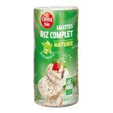 Céréal Bio Galettes de Camargue  Riz complet - 130g