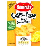 Bénénuts Crackers  Emmental - 90g