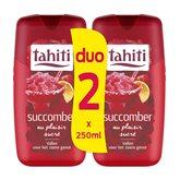 Tahiti Gel douche  Succomber - 2x250ml