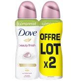 Dove Déodorant spray Dove Beauty finish 2x100ml