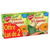 Liebig Mouline Pur Soup  10 légumes - 2x30cl - x2