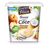 Charles & Alice Brassé végétal  Coco pomme Vanille 350g