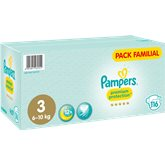 Pampers Couches  Premium Protect T3 - x116 changes