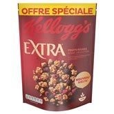 Kellogg's Céréales Extra Kellogg's Fruits rouges - 600g