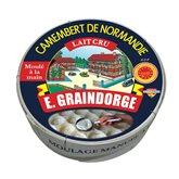 E. Graindorge Camembert  Au lait cru - 250g