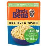 Uncle Ben's Riz express 2min Uncle Ben's Citron & romarin - 250g