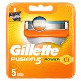 Gillette Lames Gillette Fusion5 Power - x5