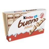 Kinder Barre Kinder Bueno White 12 x 2 barres - 468g