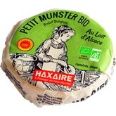 Haxaire Fromage Munster Bio Haxaire AOP - 220g