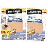 Madrange Mousse de canard Madrange 2x180g