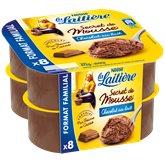 Nestlé Secret de mousse la Laitière Chocolat au lait - 8x12cl