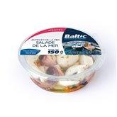 Baltic Salade de la mer Baltic Mollusques et crustacés - 150g