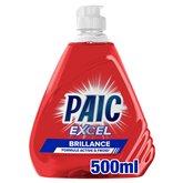 Paic  Liquide vaisselle Paic Excel+ Ultra brillance - 500ml