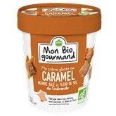 Mon Bio gourmand Crème glacée Mon Bio gourmand Caramel et fleur de sel - 280g