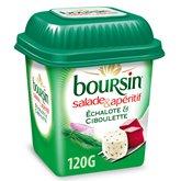 Boursin Fromage Boursin Salade Echalote ciboulette - 120g