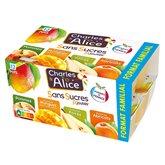 Charles & Alice Purée de fruits Charles & Alice Fruits panachés - 1.2kg