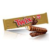 Twix Barres chocolatées  10x2 barres - 500g